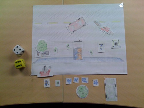 Chaos City - Paper Prototype