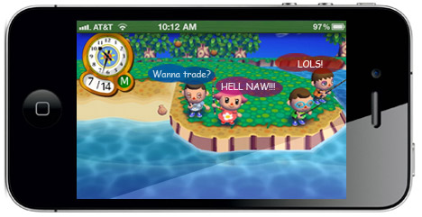 IGN Mockup - Animal Crossing on the App Store