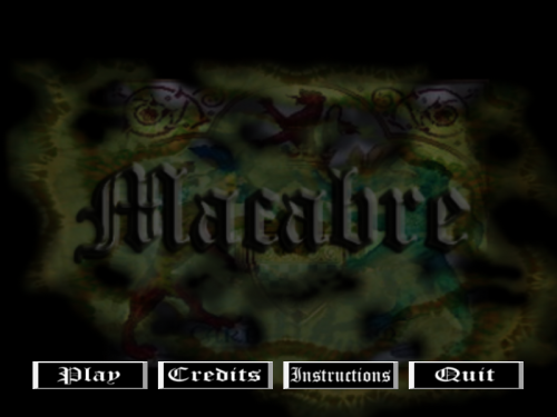 Macabre - Title Screen
