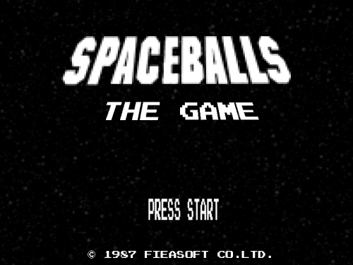 Spaceballs - Title Screen
